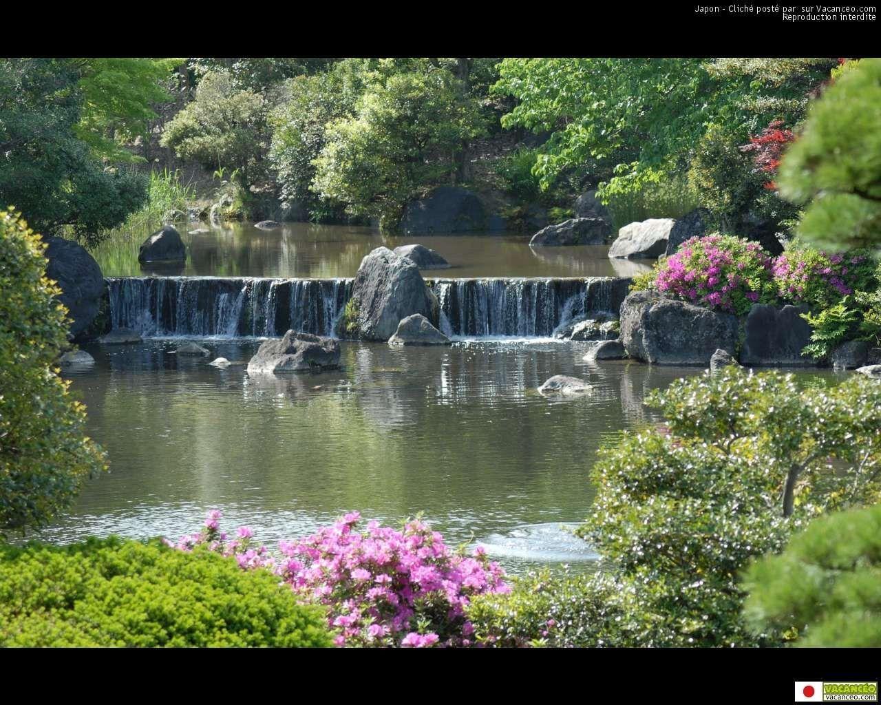 Fonds d cran japonais for Jardin japonais fond d ecran